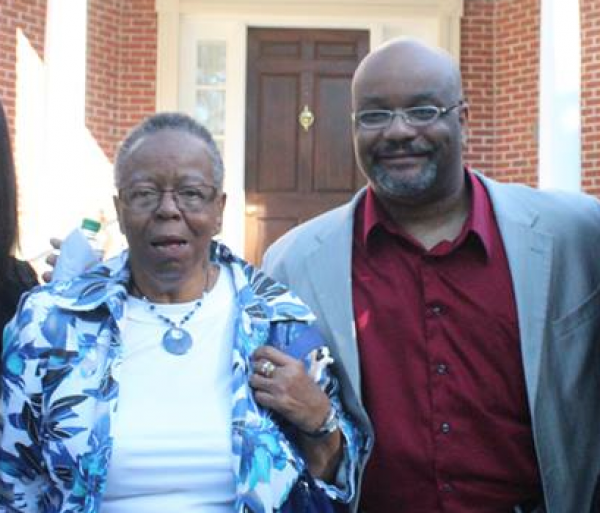 My grandmother Felicia and I on a visit to Morehouse college a few months before she died