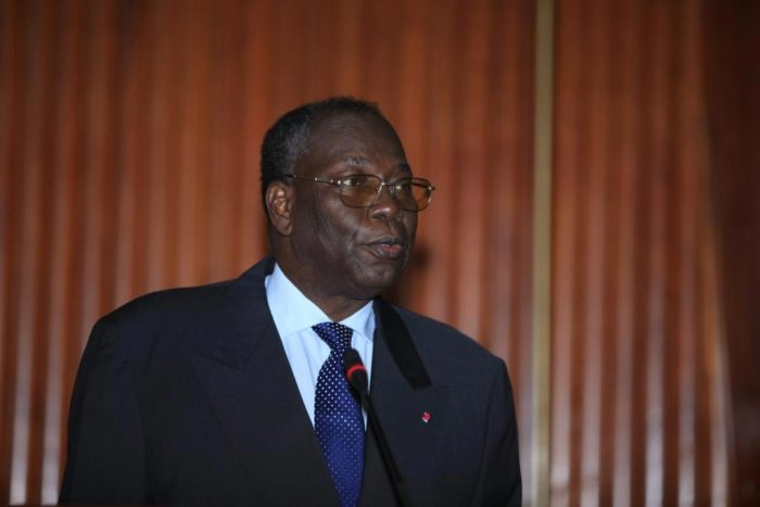 Vice Prime Minister of Cameroon Amadou Ali pictured at 2nd Meeting of African and European Judicial Officers in Cameroon in October 2010 (Photo Source: UIHJ)