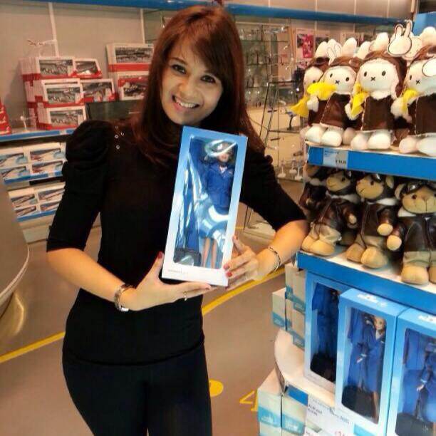 Angeline Premila is believed to be one of the crew members on board Malaysia Airlines 17. (Photo from Facebook)