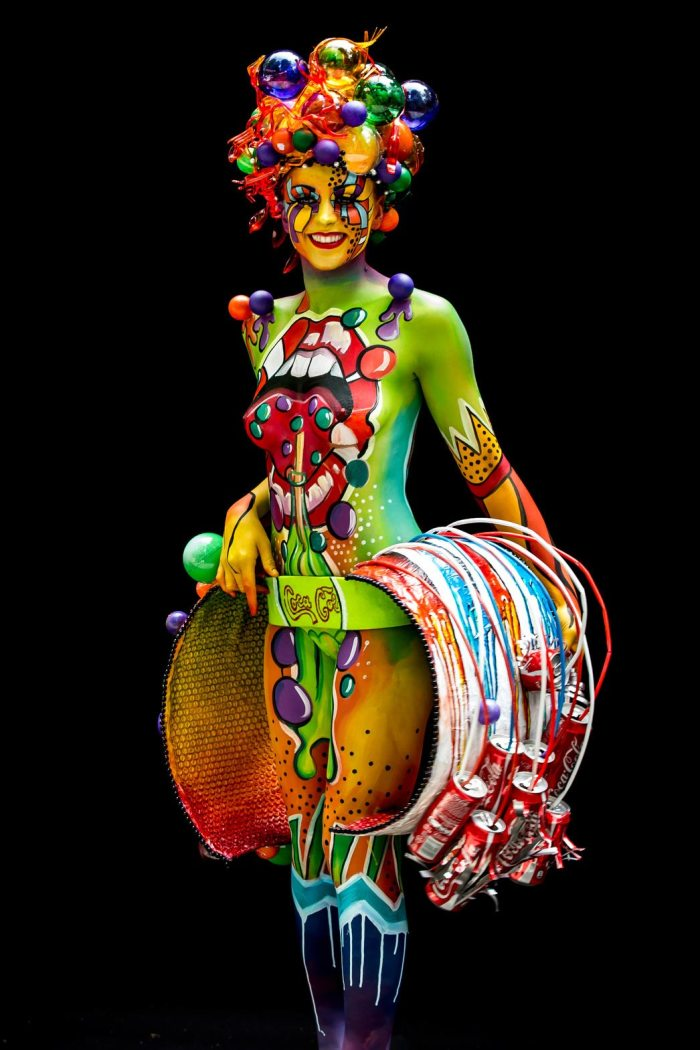 Naked Women In Colours Photos From The World Bodypainting Festival 2014 Look -2444
