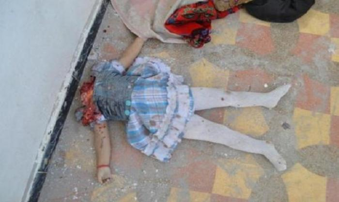 A Christian girl beheaded by ISIS terrorists. [Photo Credit: Catholic online]