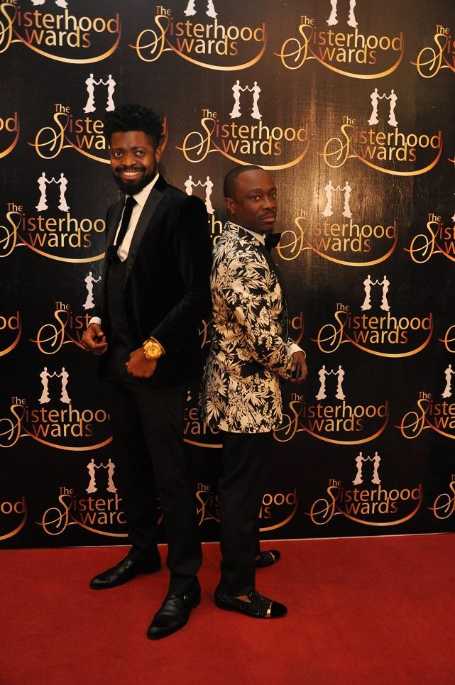 Basket Mouth and Julius Agwu