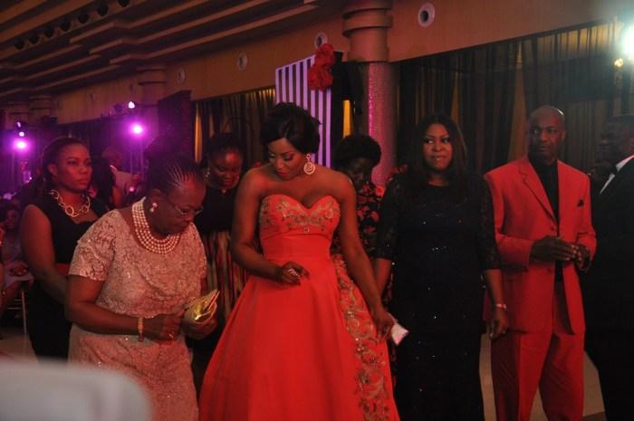 Celebrant and Mum dancing