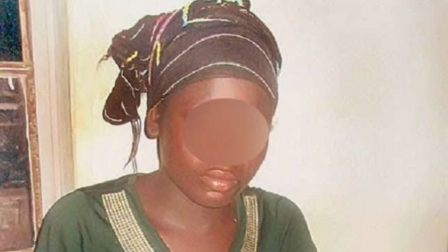 The 16-year Old Impregnated By Her Biological Father( Photo Credit: Naijagist.com)