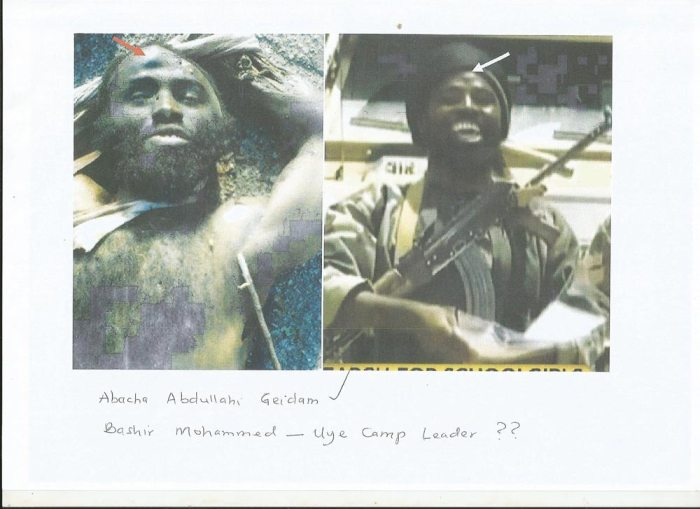 Bashir Mohammed alias Abubakar Shekau (Defence Headquarters Photo)