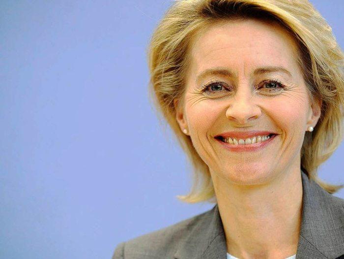 Ursula von der Leyen, German minister of defence [Photo credit: junglekey.fr]