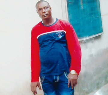 The deceased, Mr Jimoh Ifi, killed by thugs in Delta on Wednesday, July 16,2014.(Photo Credit: Punch)