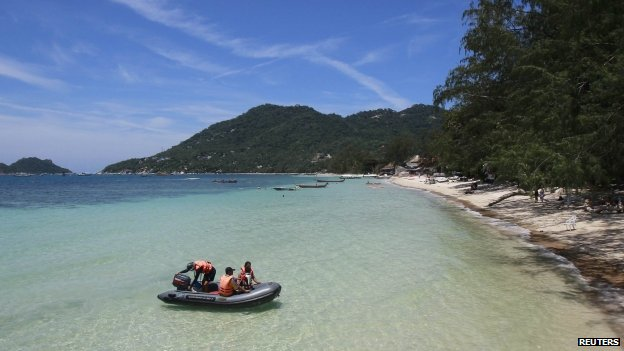 Koh Tao is a popular destination for tourists [photo credit: Reuters]