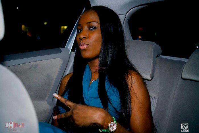 Nigeria's top blogger, Linda Ikeji (Photo Credit: MusicNest)