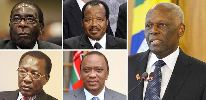 Some Of The Richest African Presidents As Listed By Richest Lifestyle(Photo Credit:Richest Lifestyle)