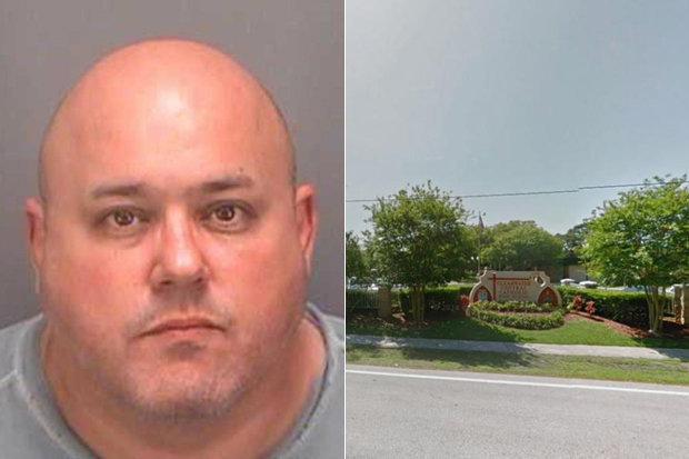 ACCUSED: Catholic school teacher Scott Stern is alleged to have forced students to strip before beating them | Pinellas County Sheriff's Office/Google