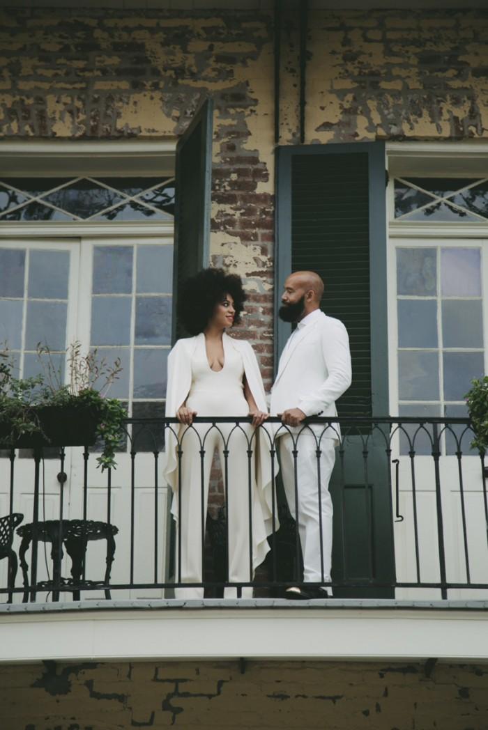 Solange-Knowles-Wedding-Portrait-Stephen-Rolland-Gown-700x1048