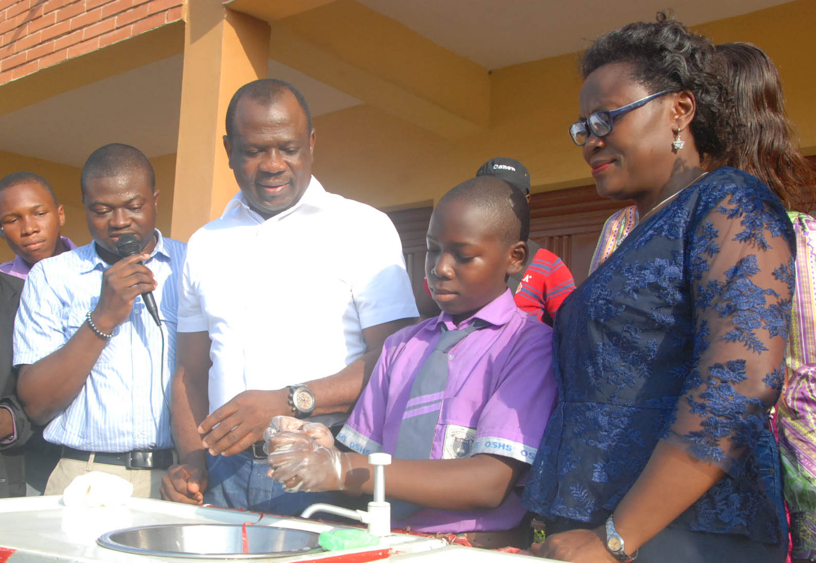 Unilever handwashing activity at Oregun High school 1