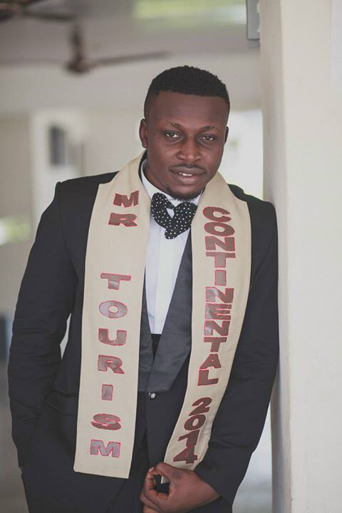 Mr. Tourism Continental 2014 Victor Chukwu.