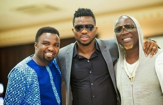 Joseph Yobo and other guest at Omotala Jalade 20th anniversary in Nollywood on Saturday, January 24, 2015 in Abuja (Photo Credit: Linda Ikeji)
