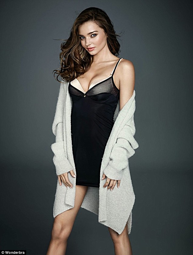Top Model Miranda Kerr Stuns In Hot And Sexy Lingerie For Wonderbra Campaign Photos -9781
