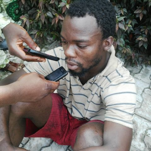 Okada rider Tumi Ayileka, arrested for raping a pregnant corper in Ondo state (Photo Credit: Ondo state Police)