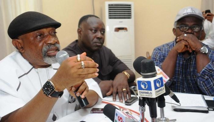 Chris Ngige, Samuel Olowookere, Abubakar Rasheed