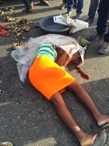 15-year-old fish seller who was struck by a stray bullet  on Thursday, March 12, 2015 during a gun duel between some hoodlums and policemen in the Lekki axis of Lagos state.
