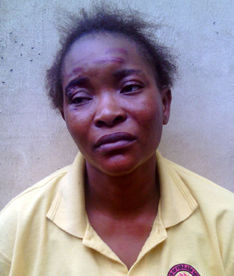 Funmilayo Adeyemi, alias Mary Akinloye.