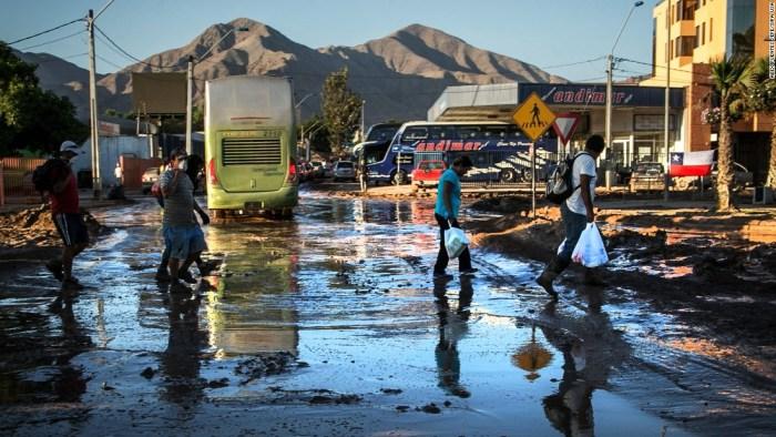 Chilean flood (Photo Credit: CNN)