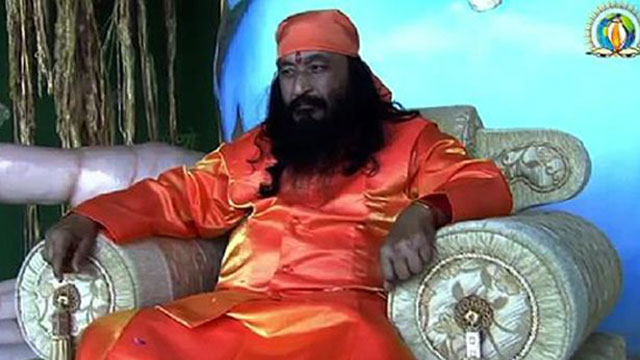 The founder of the Divya Jyoti Jagrati Sansthan religious order, His Holiness Shri Ashutosh Maharaj, has been in the freezer since January 29, 2014 following argument by his devotees that he was meditating after he was confirmed dead. (Photo Credit: BritishSoutInians.co.uk)