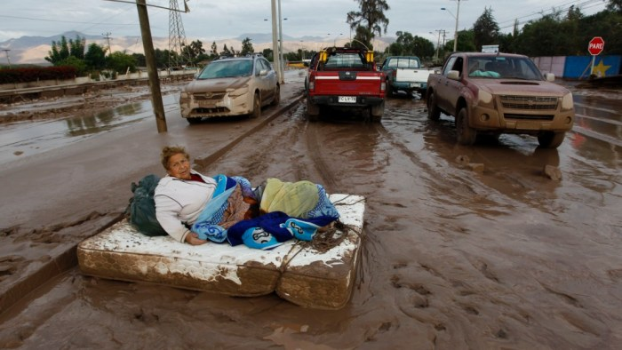 Aftermath of the Chilean flood (Photo Credit: CNN)