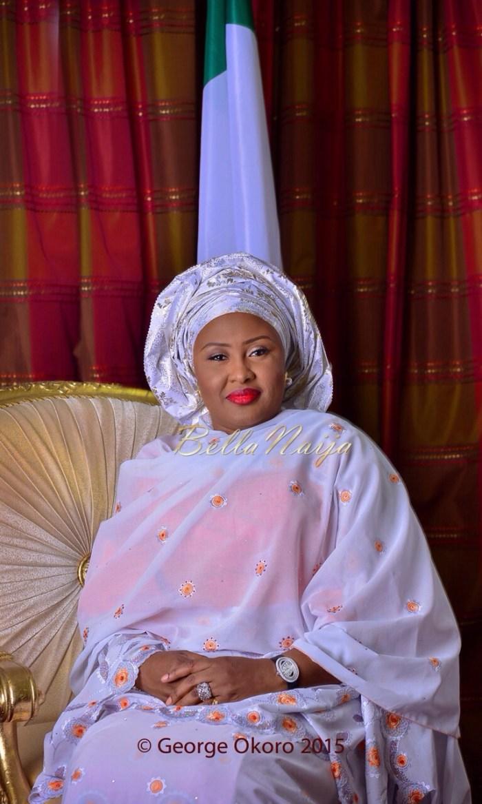 Nigeria's First Lady Aisha Buhari (Photo Credit: George Okoto)