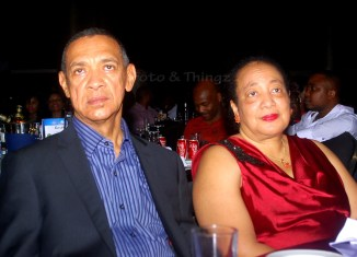Ben Murray-Bruce and wife Evelyn