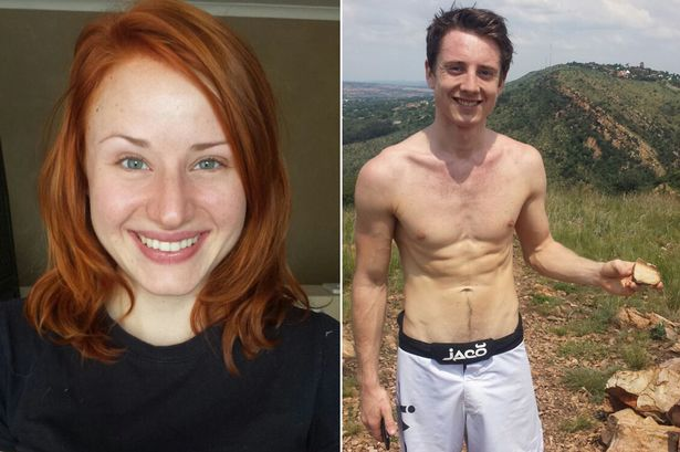 Late Cheynne Holloway(Left) who died while taking selfie with her boyfriend, James Nicholas, (Right) during their first date in South Africa. (Photo Credit: Manchester Evening News)