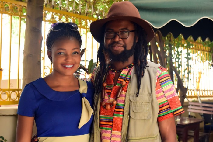 Onyeka Nwelue and Chiaka Orjiako (Photo Credit: Onyeka Nwelue)