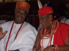 Obi Of Onitsha(Left) and Omu Of Anioma(right). (Photo Credit: The Trent)