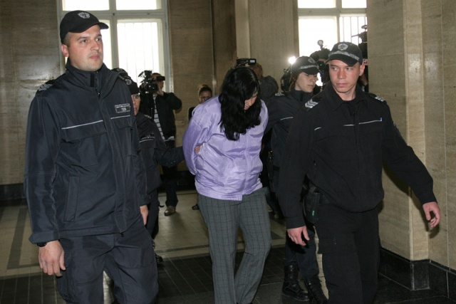 Emiliya Kovacheva, herself a mother, was filmed apparently attacking a four-day-old baby in Sofia, Bulgaria. (Photo Credit: Novinite.com)