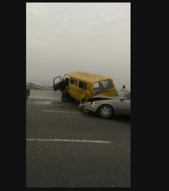 Accident on Third Mainland(Photo Credit:Naij.com)