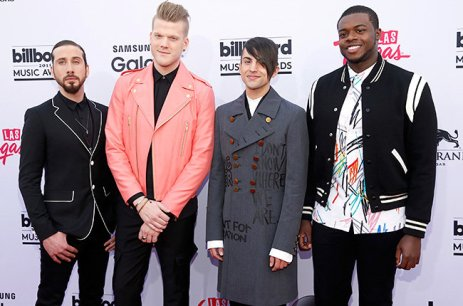 The Pentatonix (Credit: Invicion/AP)