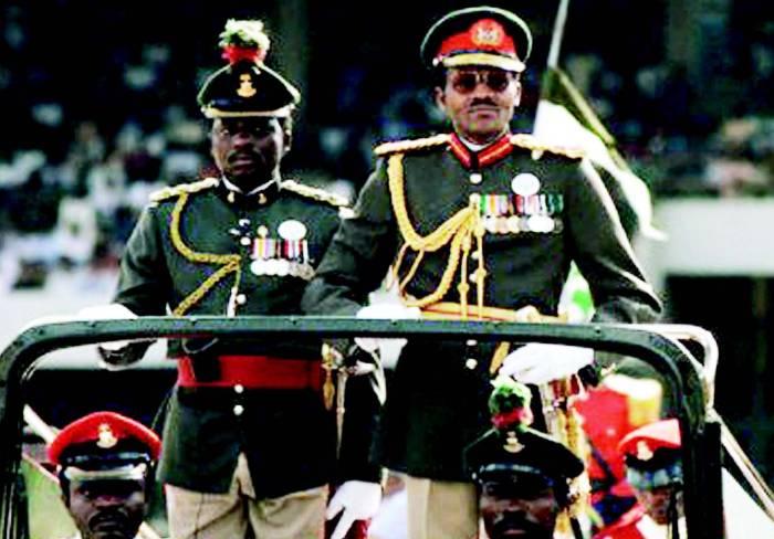 General Muhammadu Buhari as military head of state of Nigeria in 1984
