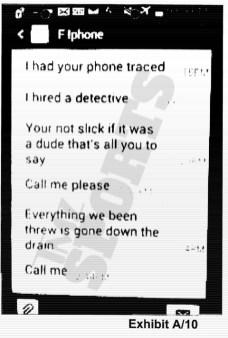Boxing champion, Floyd Mayweather and ex-fiancee, Shantel Jackson engage in war of word on phone. (Photo Credit: TMZ)