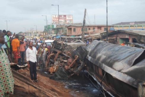 Fire At Iyana-Ipaja lament (Photo Credit: VAnguard)
