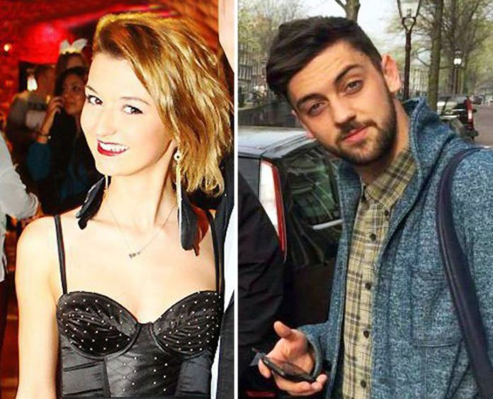 24-year-old Samuel Price and 20-year-old Elizabeth Sandlin. (Photo Credit: Metro UK)