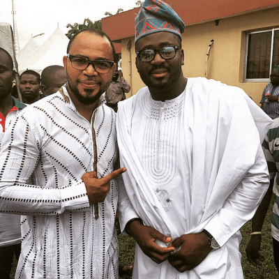 Ramsey Noah and Desmond Elliot ( Credit: Instagram)