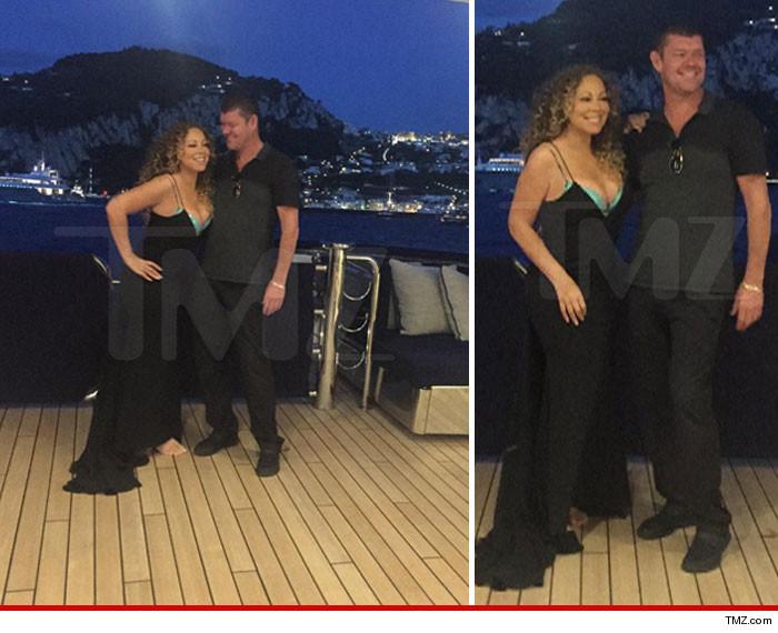 Mariah Carey and her Australian boyfriend (Credit: TMZ)