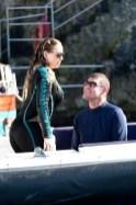 Packer getting a load of Mariah (Credit: TMZ)