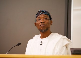 Governor Rauf Aregbesola of Osun State Ile-Ife