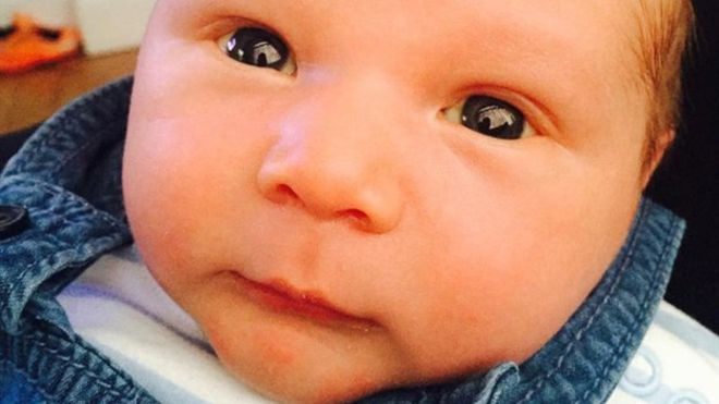 Baby Reggie Blacklin was mauled to death by family's dog while his mum was away in the middle of the night in Sunderland. (Photo Credit: IBTimes)