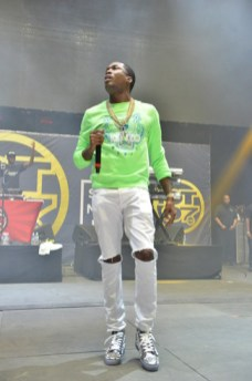 Meek Mill perform at the 2015 Summer Jam (Credit: Joe Chea/Hot 97)