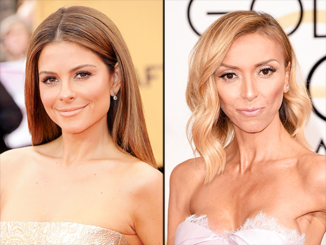 37-year-old Maria Menounos (Left) replaces 40-year-old Giuliana Rancic, as new host of E!News. (Right)