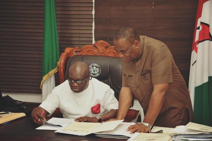 Dr. Okezie Ikpeazu, Governor of Abia State