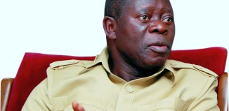 Adams Oshiomole, former governor, Edo State
