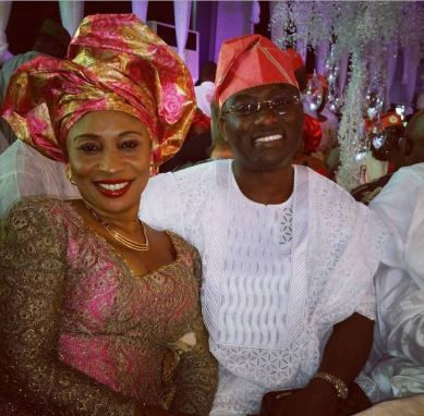 Dayo Adeneye and wife