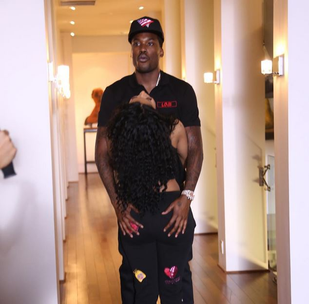 Lovebirds! Nicki and Meek are still going strong (Photo Credit: Instagram)